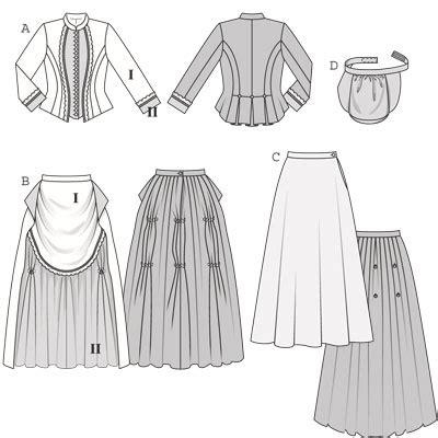 historical pattern review burda 7880 historic dress 1888