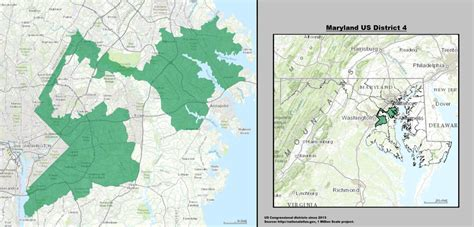 maryland map congressional districts maryland s 4th congressional district