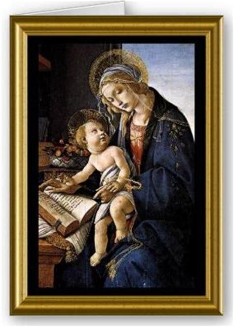 madonna del libro botticelli christmas ornament zazzle candida martinelli s italophile site italian christmas cards
