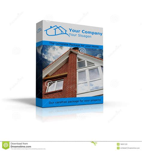 complete package for homes stock photos image 18531123
