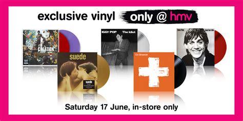 Where Can I Buy Hmv Gift Cards - hmv vinyl week 2017 exclusive vinyl editions first reveal hmv com