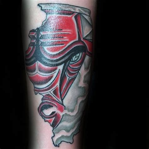 50 chicago bulls tattoo designs for men basketball ink ideas