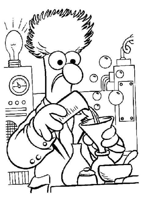 showing affection coloring sheet show de los muppets dibujos para colorear dibujos1001 com