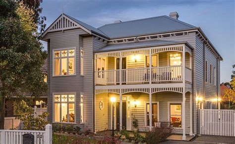 Victorian Homes Decorating Ideas by Harkaway Homes Classic Victorian And Federation Verandah
