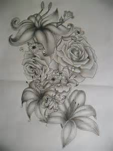 flower tattoo drawings 35 flower tattoo design samples and ideas