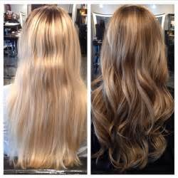 lowlighting hair after all love this before and after using chromasilk contour