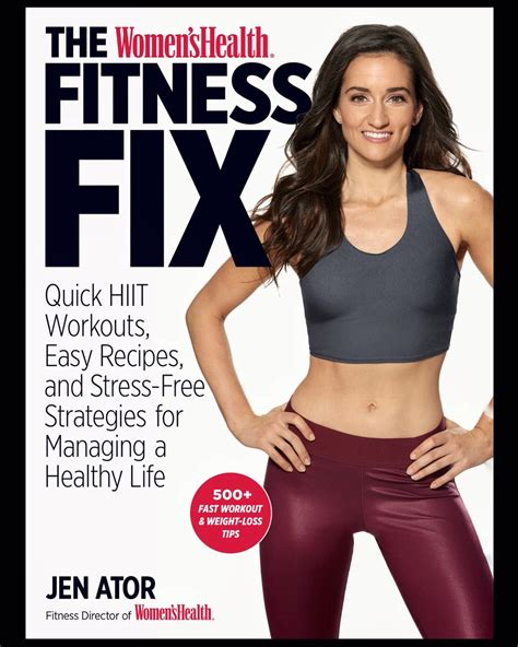 the s health fitness fix hiit workouts easy recipes stress free strategies for managing a healthy books wellness lifestyle live as the best version of yourself