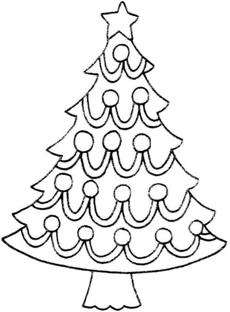 christmas tree clipart coloring page christmas tree coloring pages and line art images pictures