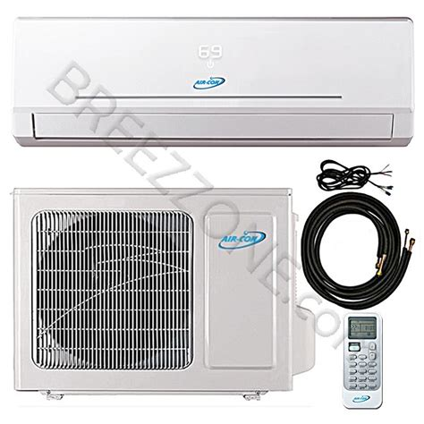 btu air  ductless mini split air conditioner heat