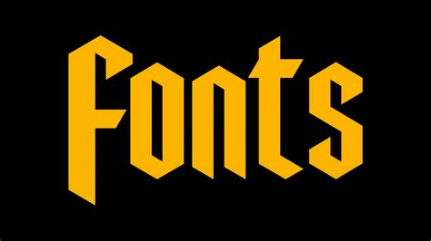 free letter fonts fonts abduzeedo