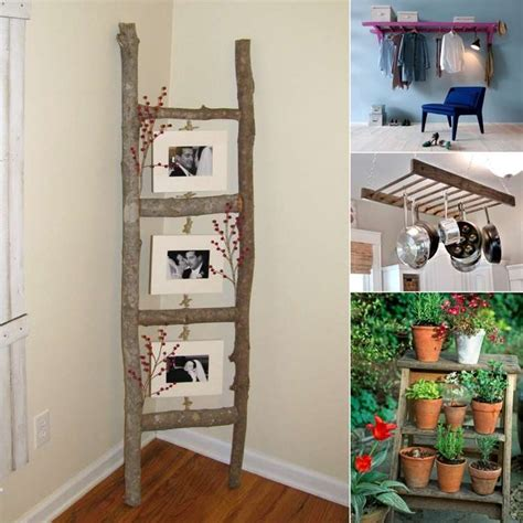 13 ingenious ladder use and decoration ideas