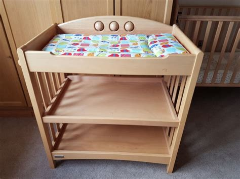cot with changing table matching cot and changing table for sale in kilkenny
