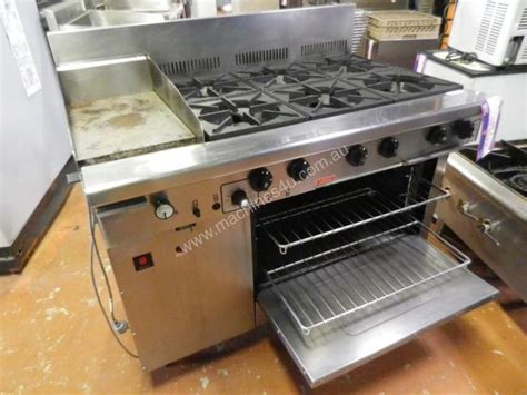 Oven Gas Second used goldstein second goldstein 6 burner stove with