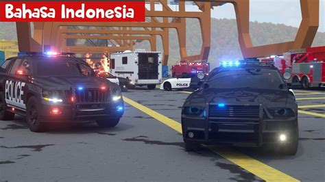 mobil polisi sersan cooper bag  bahasa indonesia
