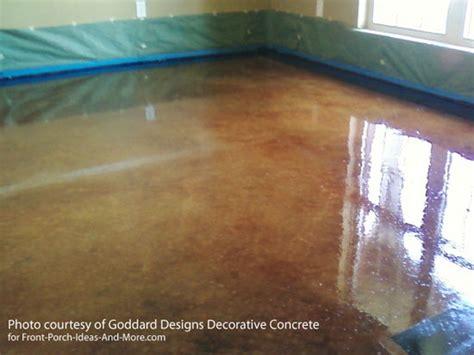 Low Furniture staining concrete floor basics concrete stain sealer