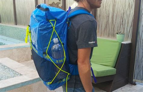 build an ultralight backpack from ikea plastic tote bags bag check diy ikea backpack fordsbasement