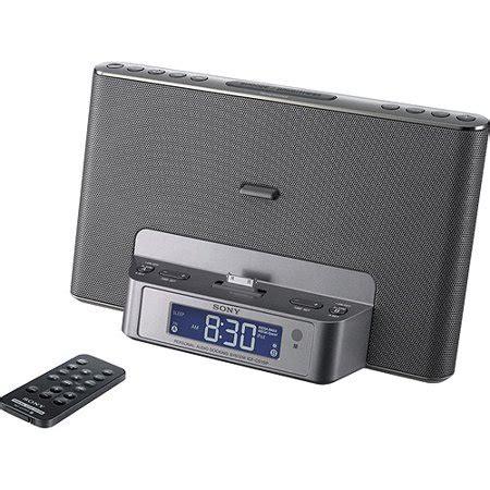 sony icfcs15ipsil dual alarm clock am fm radio perp with ipod iphone dock walmart