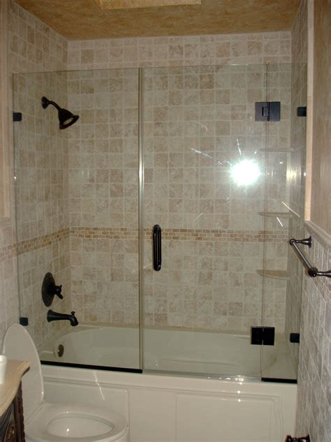 frameless tub shower doors best remodel for tub shower enclosure glass tub