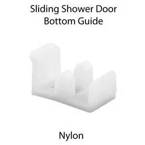 plastic sliding shower doors m6112 sliding shower door bottom guide white plastic