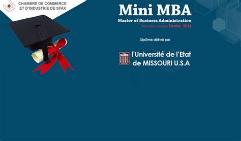 Mini Mba Missouri State by Sfax Lancement D Un Mast 232 Re De Management Des Affaires