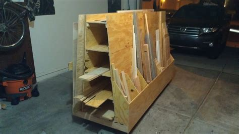 Build Lumber Storage Rack by 187 Meet The Maker Ty Moser