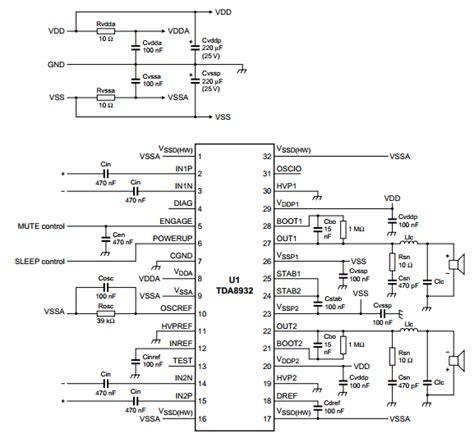 Tda8947j lifiercircuits