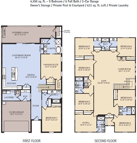 clearwater floor plan at westside