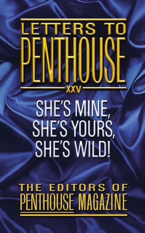 the letters edition books letters to penthouse 25 she s mine she s yours she s