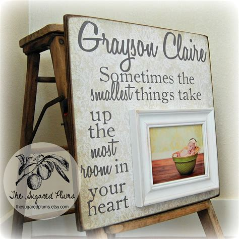 personalized baptism gifts christening gift personalized picture frame by thesugaredplums