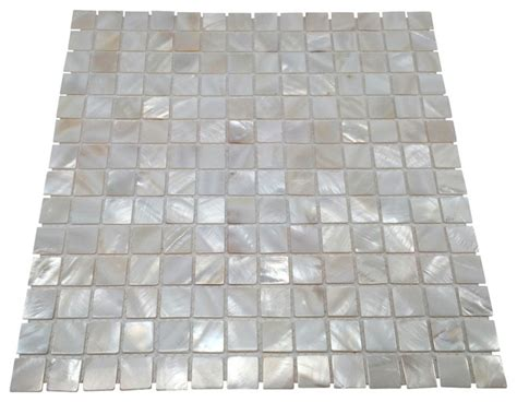 Of Pearl Floor Tile by Of Pearl Seashell Tile Oyster White