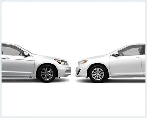 cars comparable to honda accord toyota camry vs honda accord compare cars
