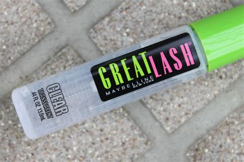 Harga Great Lash Clear Maybelline maybelline great lash mascara in clear lash brow