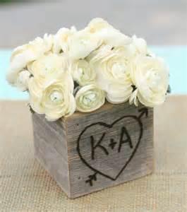 flower box centerpiece wedding find inspiration in nature for your wedding centerpieces