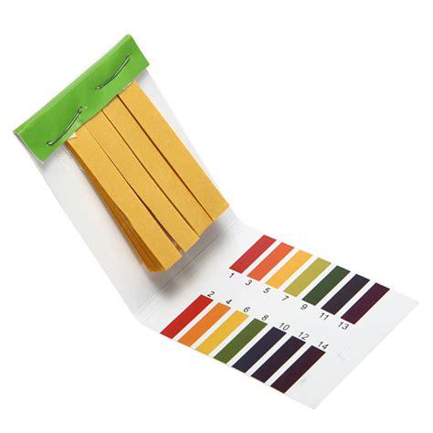 How To Make Ph Paper - 1 14 ph alkaline acid test paper water litmus testing kit