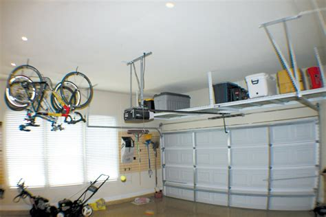 Hanging Ceiling Storage by Garage Storage Rack Ceiling Images