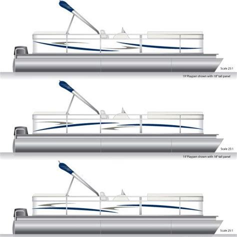 pontoon boat decals pontoon graphics decal kit pontoon boating and pontoon