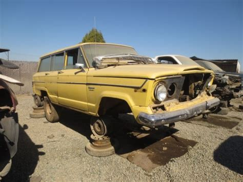 Jeep Junkyard Junkyard Find 1976 Jeep Wagoneer The About Cars