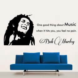 Bob Marley Wall Stickers bob marley wall decal bob marley wall sticker ebay