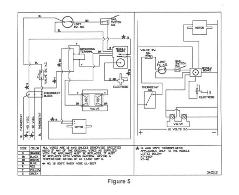 atwood rv furnace wiring diagram atwood 8940 furnace parts