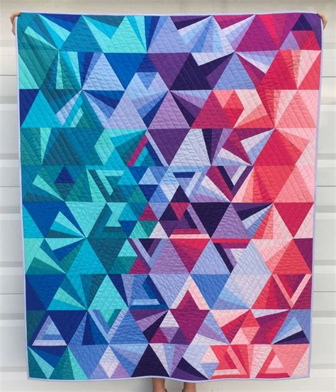 Geometric Patchwork Patterns - 25 best ideas about geometric quilt on modern