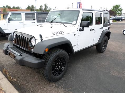 Jeep Unlimited Willys New Inventory In Payson Az Chapman Payson Auto Center