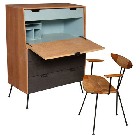 Raymond Furniture raymond loewy droptop desk or cabinet 1950s for sale at