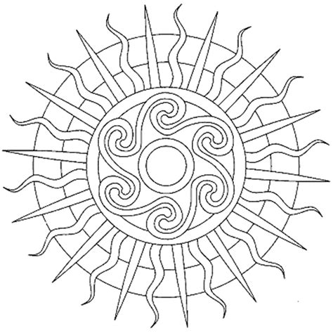 coloring pages for adults simple simple mandala coloring page az coloring pages