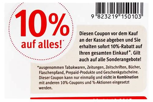 rossmann coupon 10 2018