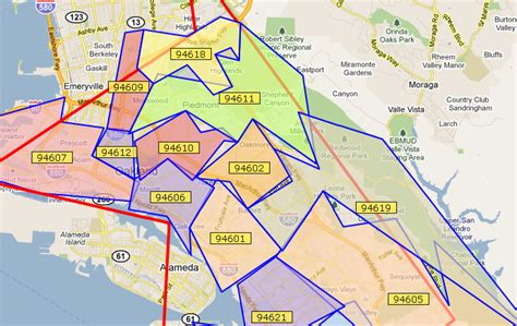 oakland zip code map information about quot zip code map of oakland jpg quot on zip codes oakland localwiki