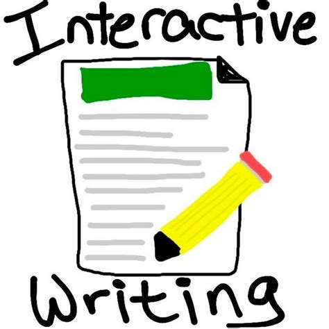 Interactive Essay Writing by Interactive Writing Don T The Door Two Writing Teachers