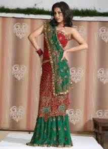 Traditional and modern wedding saree from indian wedding dress
