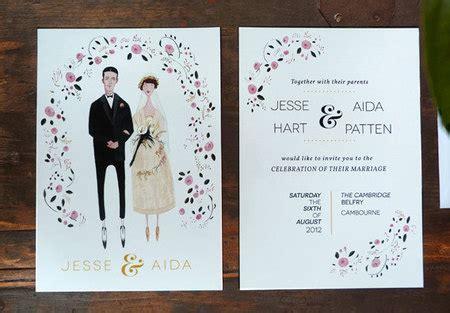 desain kartu undangan pernikahan modern 62 contoh desain undangan pernikahan unik ayeey com