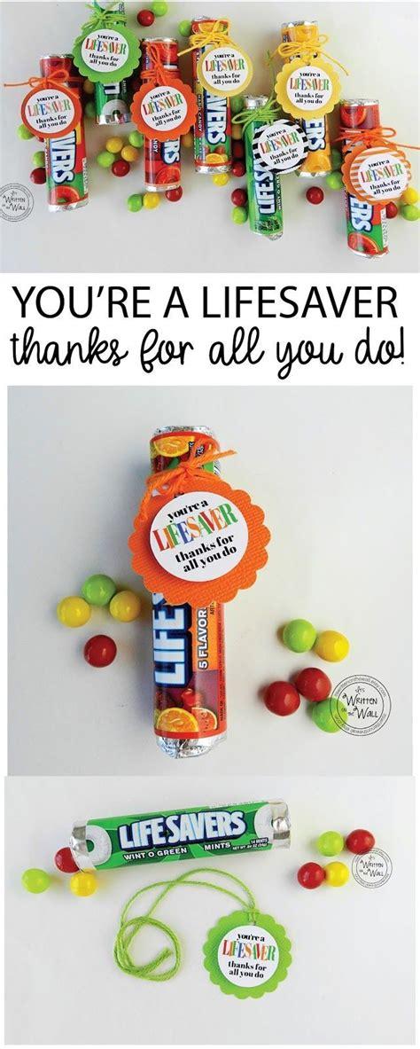 You Re A Lifesaver Thanks For All You Do Fun Appreciation