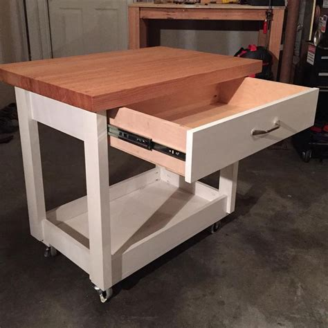 mobile kitchen island butcher block 13 best images about diy butcher block island on pinterest